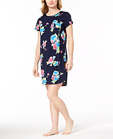 Lauren Ralph Lauren Catalina Icon Floral-Print Cotton Sleepshirt