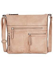 INC Riverton Small Messenger Crossbody, Created for Macy's