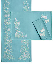 Lenox Butterfly Carved Table Linens Collection