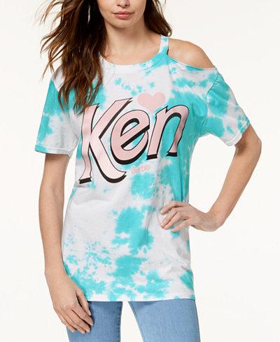 Barbie X Love Tribe Juniors' Cotton Ken Graphic T-Shirt