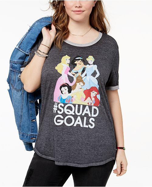Disney Hybrid Plus Size Princess T-Shirt & Reviews - Tops - Plus ...
