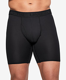 "Under Armour Men's Threadborne Microthread 9"" Boxer Briefs"