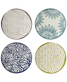 Lenox Market Place Assorted Dessert Plates, Set of 4