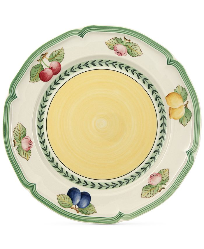 "Villeroy & Boch - ""French Garden"" Dinner Plate 10 1/4 in"