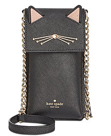 kate spade new york Cat North South Phone Crossbody