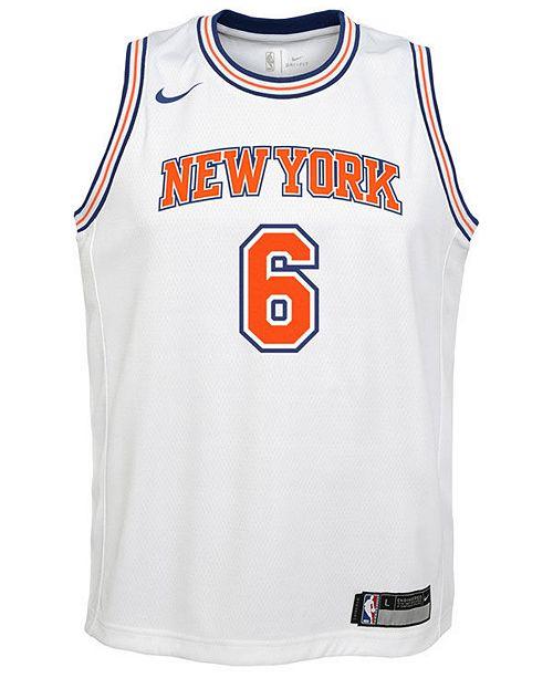 best quality ce99a 29a20 Nike Kristaps Porzingis New York Knicks Statement Swingman ...