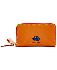 Dooney & Bourke NCAA Florentine Zip Around Wallet