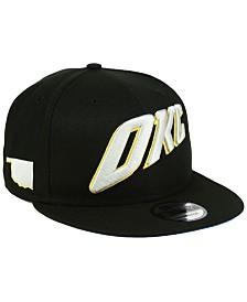 New Era Oklahoma City Thunder City Series 9FIFTY Snapback Cap