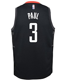 Chris Paul Houston Rockets Statement Swingman Jersey, Big Boys (8-20)
