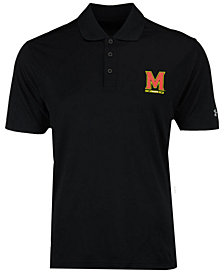 Under Armour Men's Maryland Terrapins Primary Performance Polo