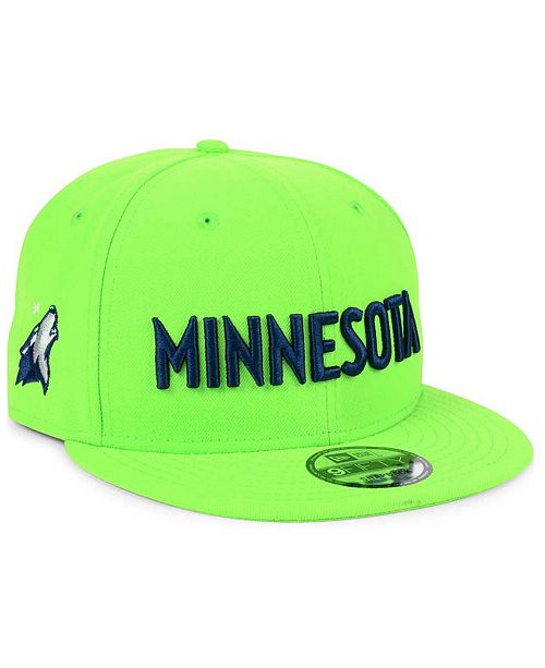 sports shoes 8874a 157d2 ... New Era Minnesota Timberwolves Statement Jersey Hook 9FIFTY Snapback Cap  ...