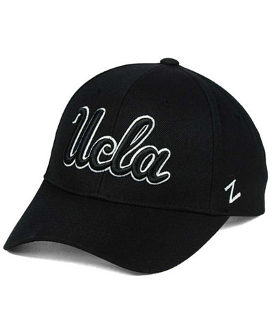 Zephyr UCLA Bruins Black & White Competitor Cap