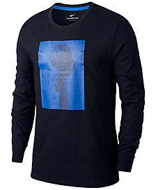 Nike Men's Dri-FIT Long-Sleeve Basketball T-Shirt