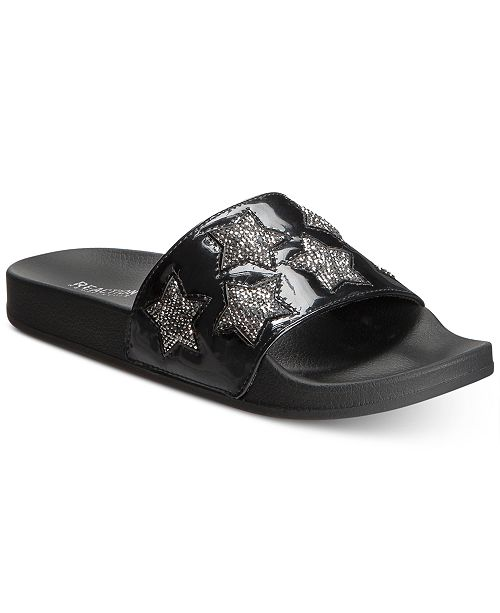 cfc00ed3c640 ... Kenneth Cole Reaction Women s Pool Splash Jewel Pool Slides ...