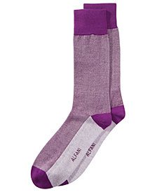 Alfani Men's Piqué Knit Dress Socks, Created for Macy's