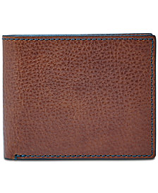 Fossil Men's Richard Leather Bifold Flip ID Wallet