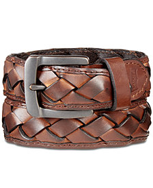 Levi's® Men's Braided Leather Belt