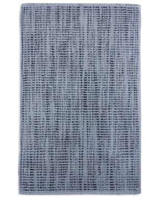 "Fashion 22"" x 36"" Textured Flat-Weave Bath Rug, Created for Macy's"