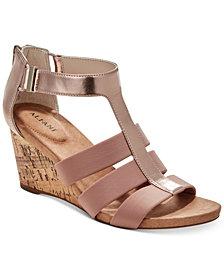 Alfani Women's Pearrl Wedge Sandals, Created for Macy's