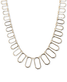 Ivanka Trump Oval Link Statement Necklace