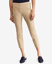 fad16dd43fba3 Lauren Ralph Lauren Petite Skinny Fit Crop Pants