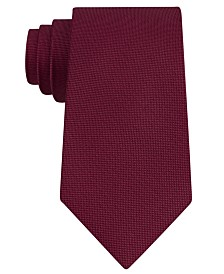 Club Room Men's Pebble Solid Silk Tie, Created for Macy's