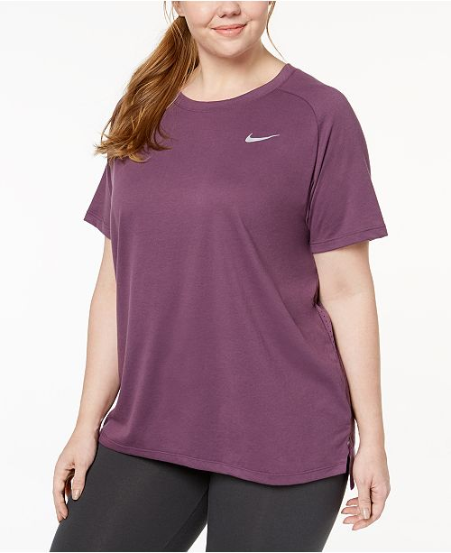 6c630df7 Nike Plus Size Breathe Tailwind Running Top & Reviews - Tops - Plus ...