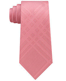 Kenneth Cole Reaction Men's Texture Grid Silk Tie