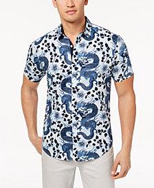 I.N.C. Men's Dragon Shirt, Created for Macy's