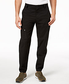 A|X Armani Exchange Men's Stretch Twill Cargo Pants