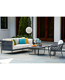 CLOSEOUT! Key Largo Outdoor Seating Collection, with Sunbrella® Cushions, Created for Macy's