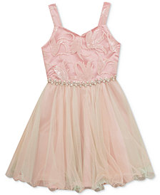 Rare Editions Sequin Bodice Dress, Big Girls