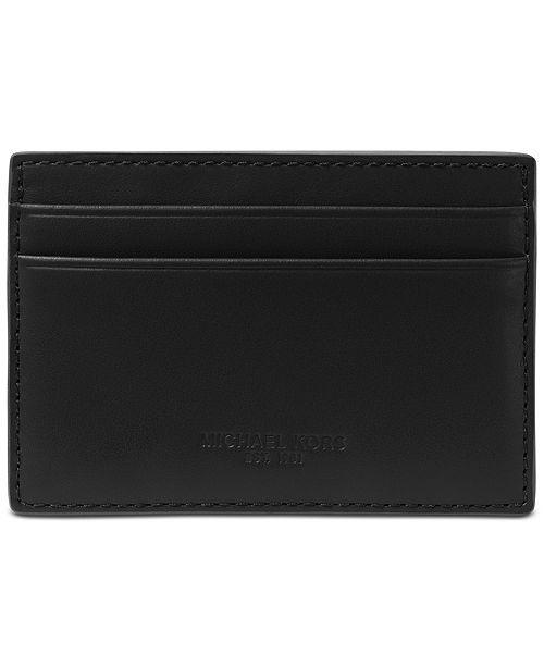 2032a9b60231a Michael Kors Men s Odin London Leather Card Case  Michael Kors Men s Odin  London Leather Card ...