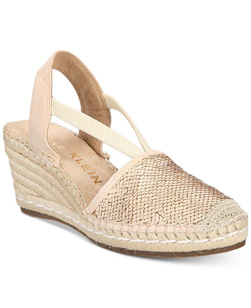 823ff578454 Anne Klein Abbey Espadrille Platform Wedge Sandals   Reviews ...