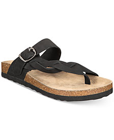 White Mountain Crawford Slip-on Footbed Thong Sandals
