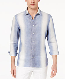 Daniel Hechter Paris Men's Archer Stripe Linen Shirt