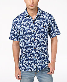 Tommy Bahama Men's Ft. Lauderdale Fronds Silk Shirt