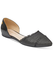 Tommy Hilfiger Women's Neoline Pointed Toe d'Orsay Flats