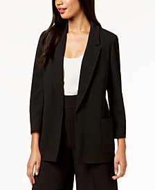 Nine West Open-Front Jacket, Created for Macy's
