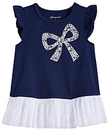 First Impressions Graphic-Print Tunic, Baby Girls, Created for Macy's