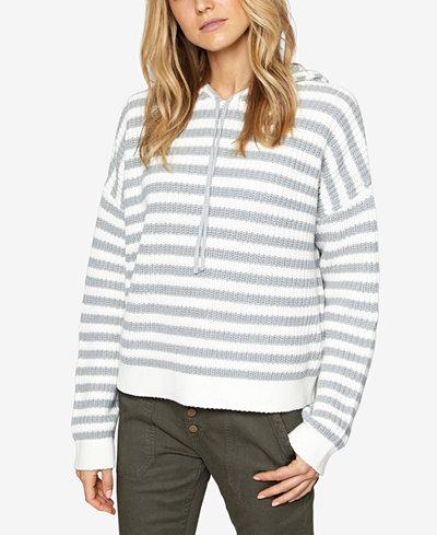 Sanctuary Harlowe Striped Hoodie Sweater