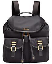 Calvin Klein Bailey Medium Nylon Backpack