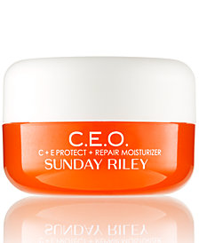 Sunday Riley C.E.O. C+E Protect + Repair Moisturizer, 0.5-oz.