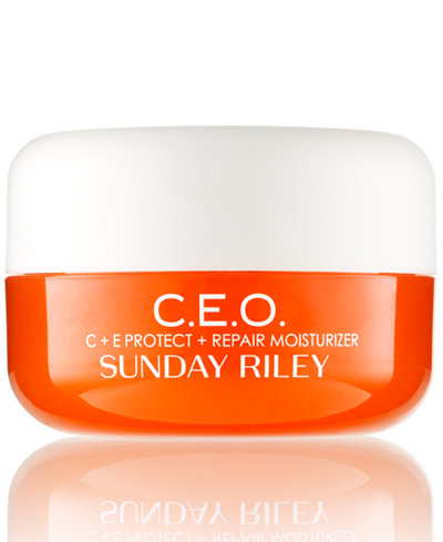 Sunday Riley C.E.O. C+E Protect + Repair Moisturizer, 0.5-oz.