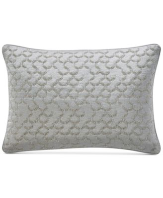 """Muse Embroidered 14"""" x 24"""" Decorative Pillow, Created for Macy's"""