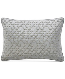 """CLOSEOUT! Muse Embroidered 14"""" x 24"""" Decorative Pillow, Created for Macy's"""