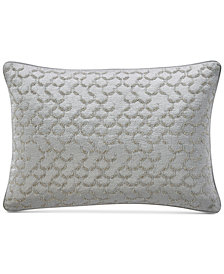 "Hotel Collection Muse Embroidered 14"" x 24"" Decorative Pillow, Created for Macy's"