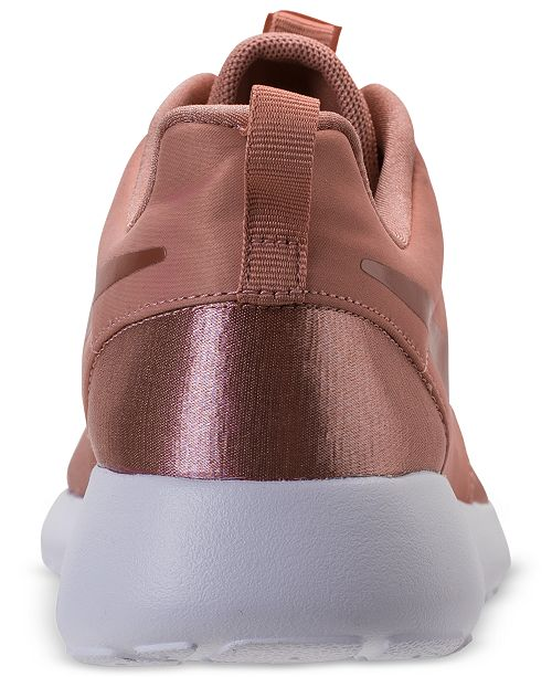 pretty nice 80404 40ed9 ... Nike Womens Roshe One Premium Casual Sneakers from Finish ...