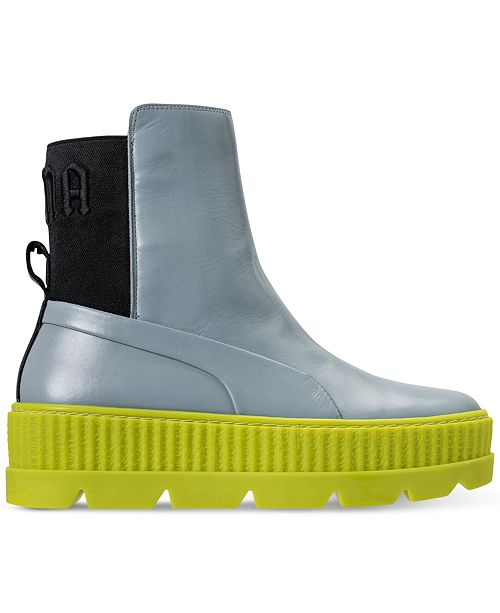 09fe2b5f054b Puma Women s Fenty x Rihanna Chelsea Sneaker Boot from Finish Line ...