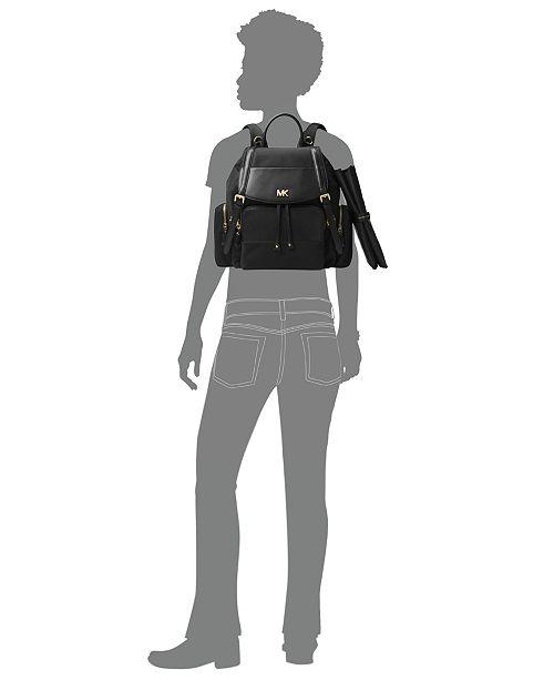 Michael Kors Beacon Diaperbag Backpack - Handbags   Accessories - Macy s 5c076190f0